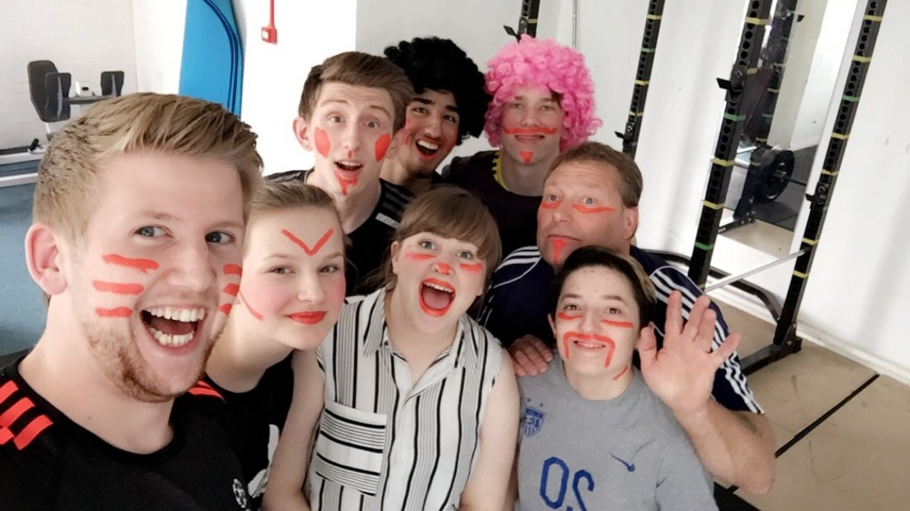 St John's students experience face painting