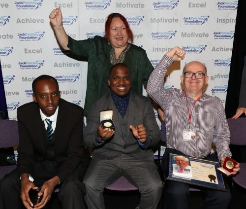 Students at the Jack Petchey Award celebration event