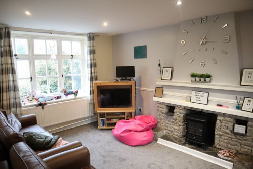 Typical living area in residential home
