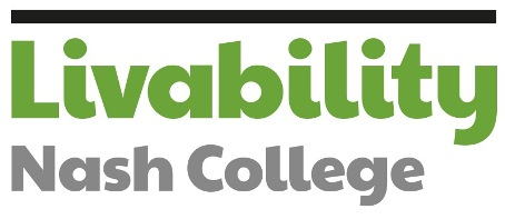 The logo of Livability Nash College