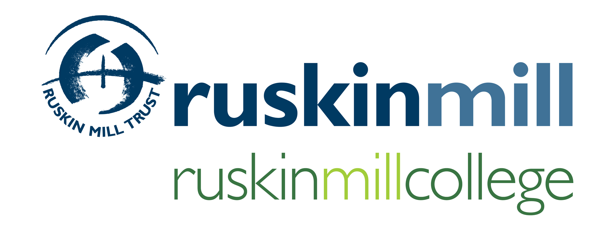 The logo of Ruskin Mill College