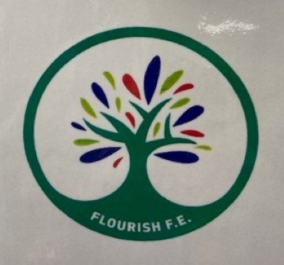 Flourish FE (Knowsley FACE) logo