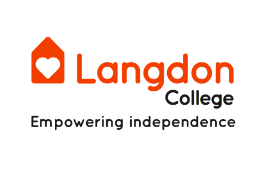 The logo of Langdon College